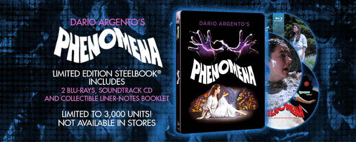 Phenomena Steelbook